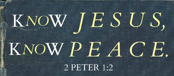 No Jesus, No Peace | Know Jesus, Know Peace
